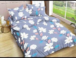3d Flower Design Single Bed Sheet