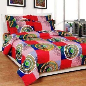 Designer Print Double Bed Sheet
