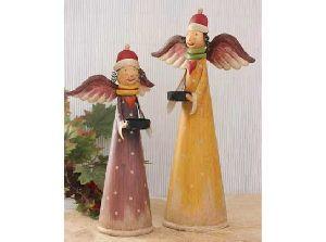 Tall Christmas Decorative Fairy Angel Figurine