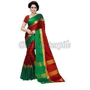 Ladies Cotton Silk Saree