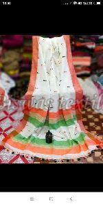 Ladies Pure Khadi Saree