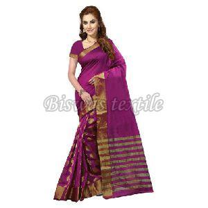 Pure Handloom Khadi Cotton Silk Saree