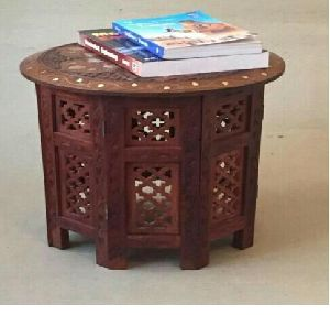 wooden hand carved royal table