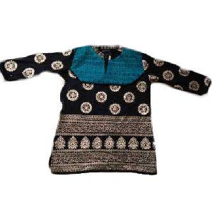 Ladies Full Sleeve Cotton Kurti