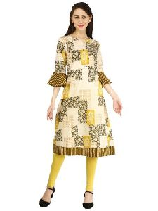 Ladies Short Cotton Kurti