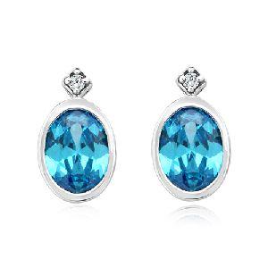 Natural Diamond Earing