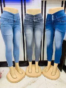 Ladies Trendy Denim Jeans
