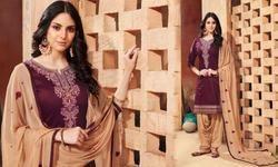 Patiala Salwar Cotton Suits For Ladies