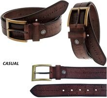 Leather Mens Casual Belts
