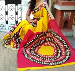 c5c51a4079 Madhubani Sarees - Manufacturers, Suppliers & Exporters in India