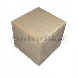 Plain Wooden Packaging Box