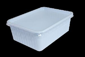 Rectangular Plastic Container With Lid