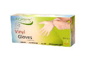 Vinyl Hand Gloves Medium