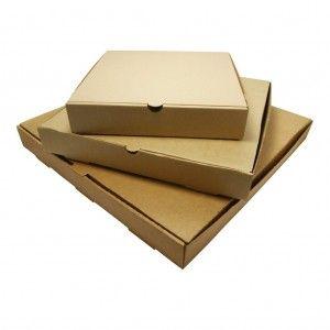 Pizza Box Kraft Brown