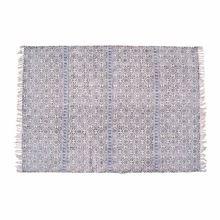 Cotton Printed Handmade Rug