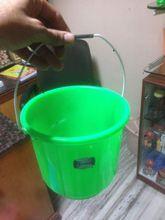 Round Design Plastic Bucket