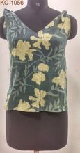 Printed Top With Flower Print
