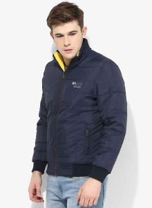 Fort Collins Yellow Solid Casual Jacket