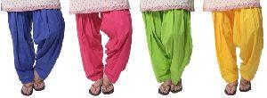 Multicolor Patiala Pants