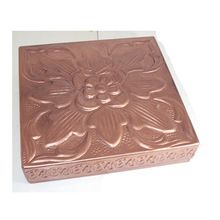Metal Copper Finish Sweet Boxes