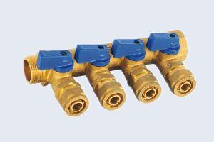 Brass Pex Manifold Valv