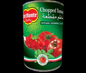 Chopped Tomato With Basil
