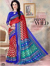 Mannat Bhagalpuri India Cotton Silk Saree