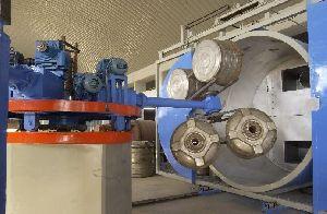 3 Arm Bi Axial Rotational Moulding Machine