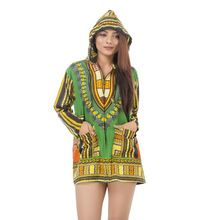 Dashiki floral clothes print coats