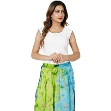 embroidery hippie long skirt