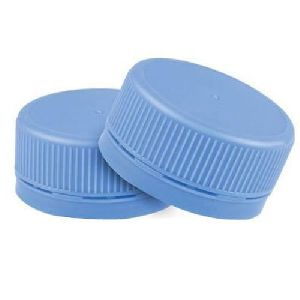 Blue Mineral Water Bottle Caps