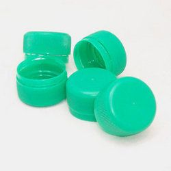 Green Mineral Water Bottle Caps