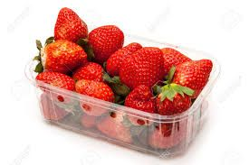 strawberry packaging trays