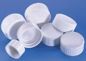White Mineral Water Bottle Caps