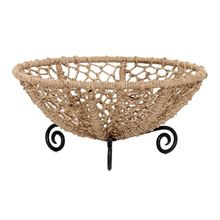 Wire Fruits Basket With Rope Wrapped Kitchen Storage Basket Of Wire Rope Basket