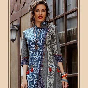 Fancy And Stylesh Cotton Kurti