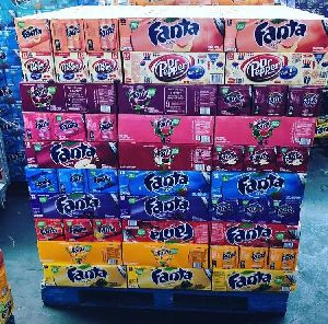 Fanta 330ml Can All Soft Drink Available