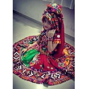 Kids Embroidered Lehenga Choli