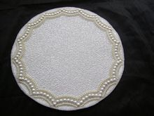 White Table Mats