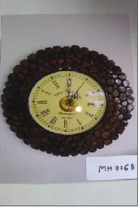 Round Wooden Wall Clock