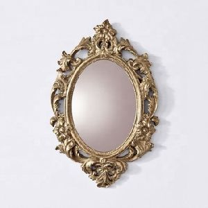 Carving Wooden Mirror Frame