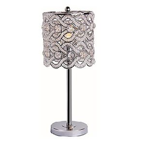 Crystals Tealight Lamp Candle Holder