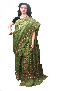 df4bfa905 Silk Kantha Saree in West Bengal - Manufacturers and Suppliers India