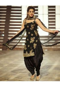 Silk Embroidery Salwar Suits