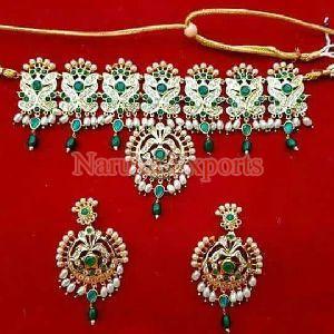 Fancy Choker Necklace Set