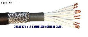Low Smoke Zero Halogen Control Cable