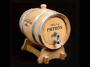 Wooden Oak Barrel