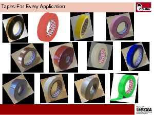 Yellow Polyester Adhesive Tape