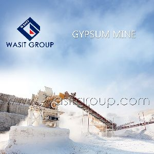 Gypsum Rocks for Cement Industries