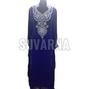 Blue Dress Material